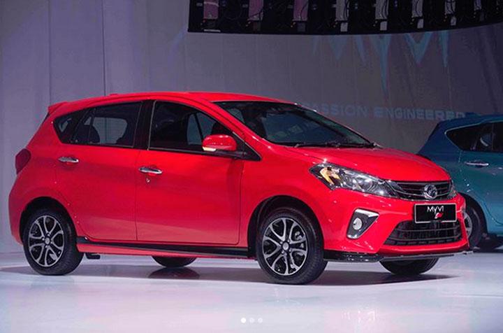 Gambar & Harga Perodua Myvi 2018