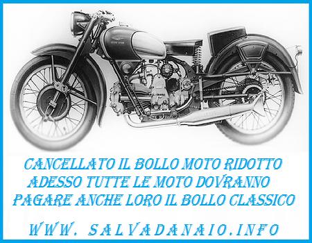 Calcolare Bollo moto d'epoca: nuove regole moto storiche