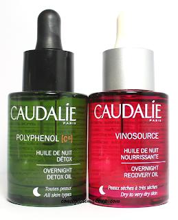 Review: Olio Detossificante & Olio Nutriente da notte - Caudalie