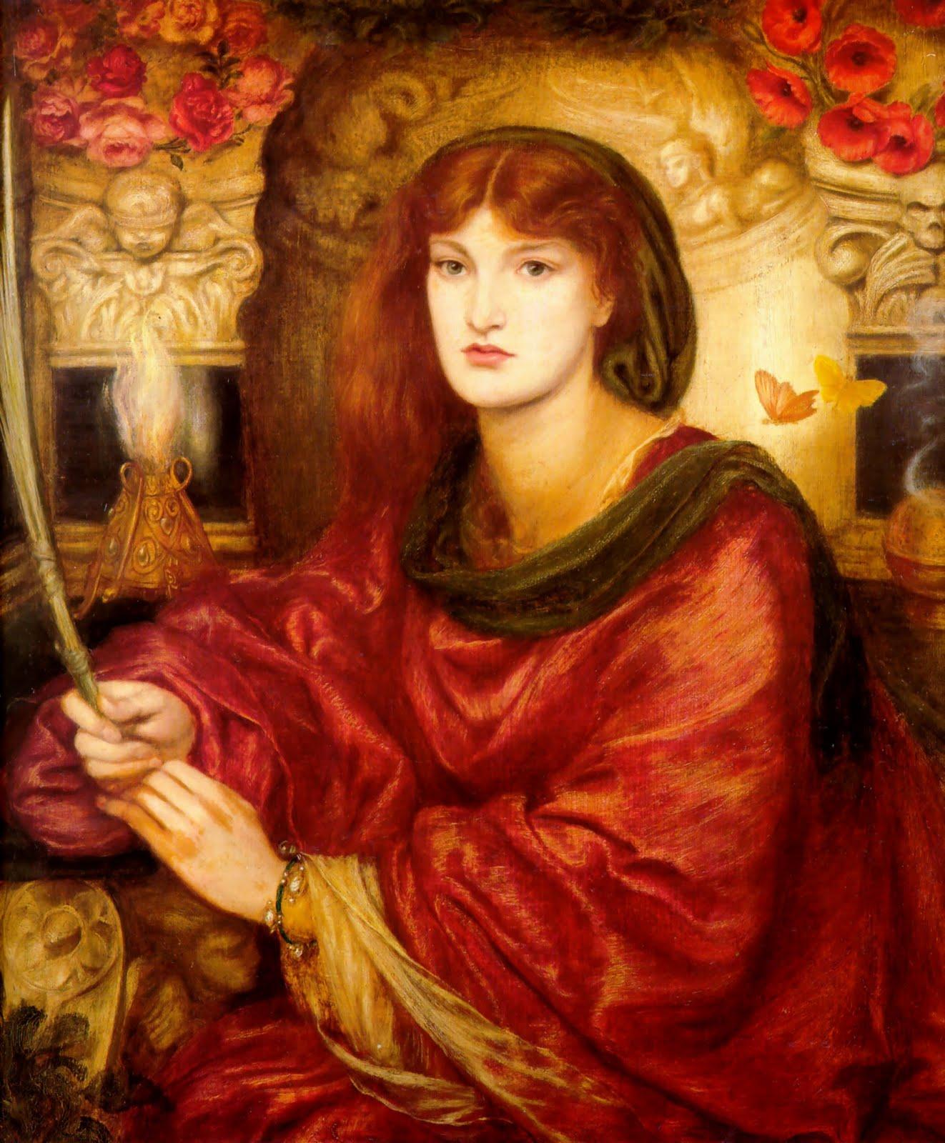 Victorian british painting dante gabriel rossetti ctd for Rossetti vernici e idee