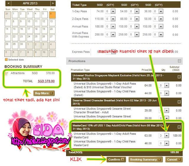 Tips Beli Tiket Online Murah Universal Studios Singapore