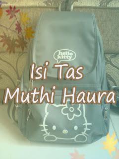 (1) Cover design untuk entry isi tas Muthi Haura