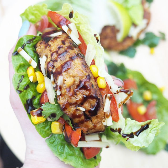 Low - Carb Mexican Turkey Burgers Recipe