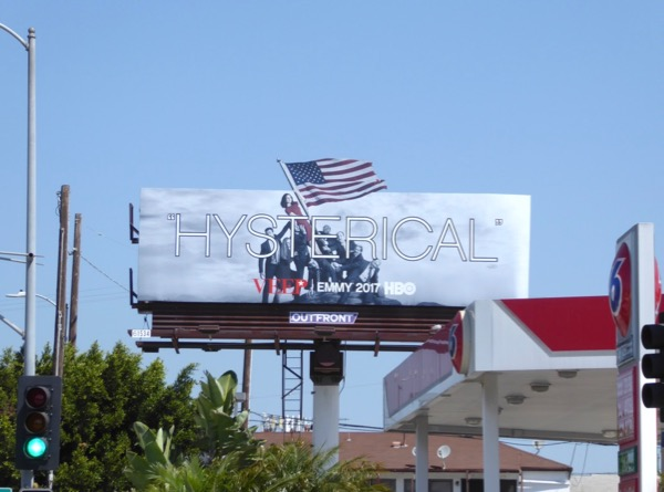Veep Hysterical Emmy 2017 billboard