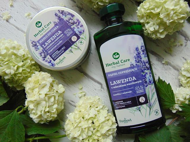 Lawenda i mleczko waniliowe - Herbal Care - Laboratorium Farmona
