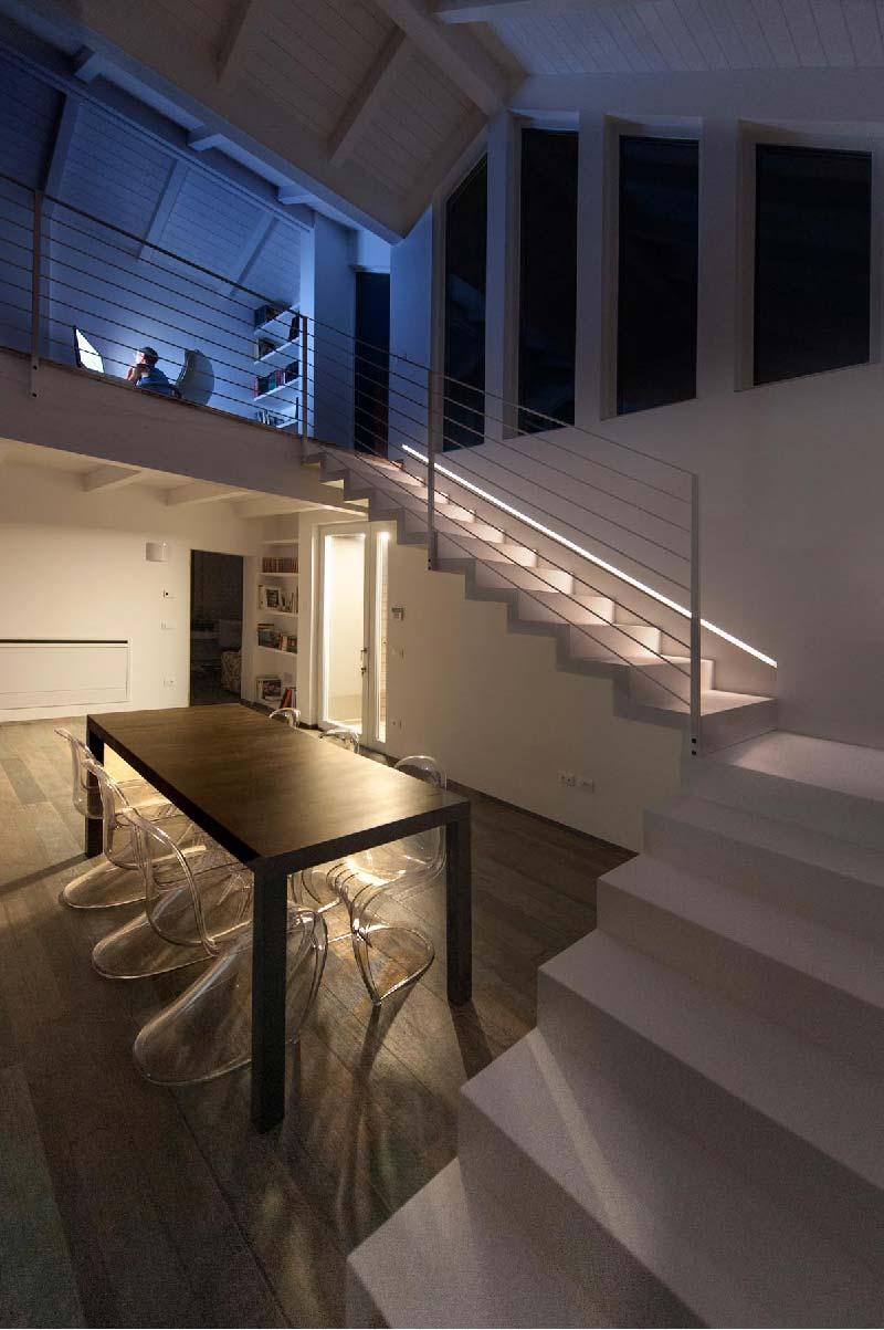 open space casa passiva
