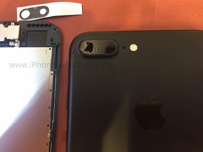 iPhone 7 plus camera glass replacement