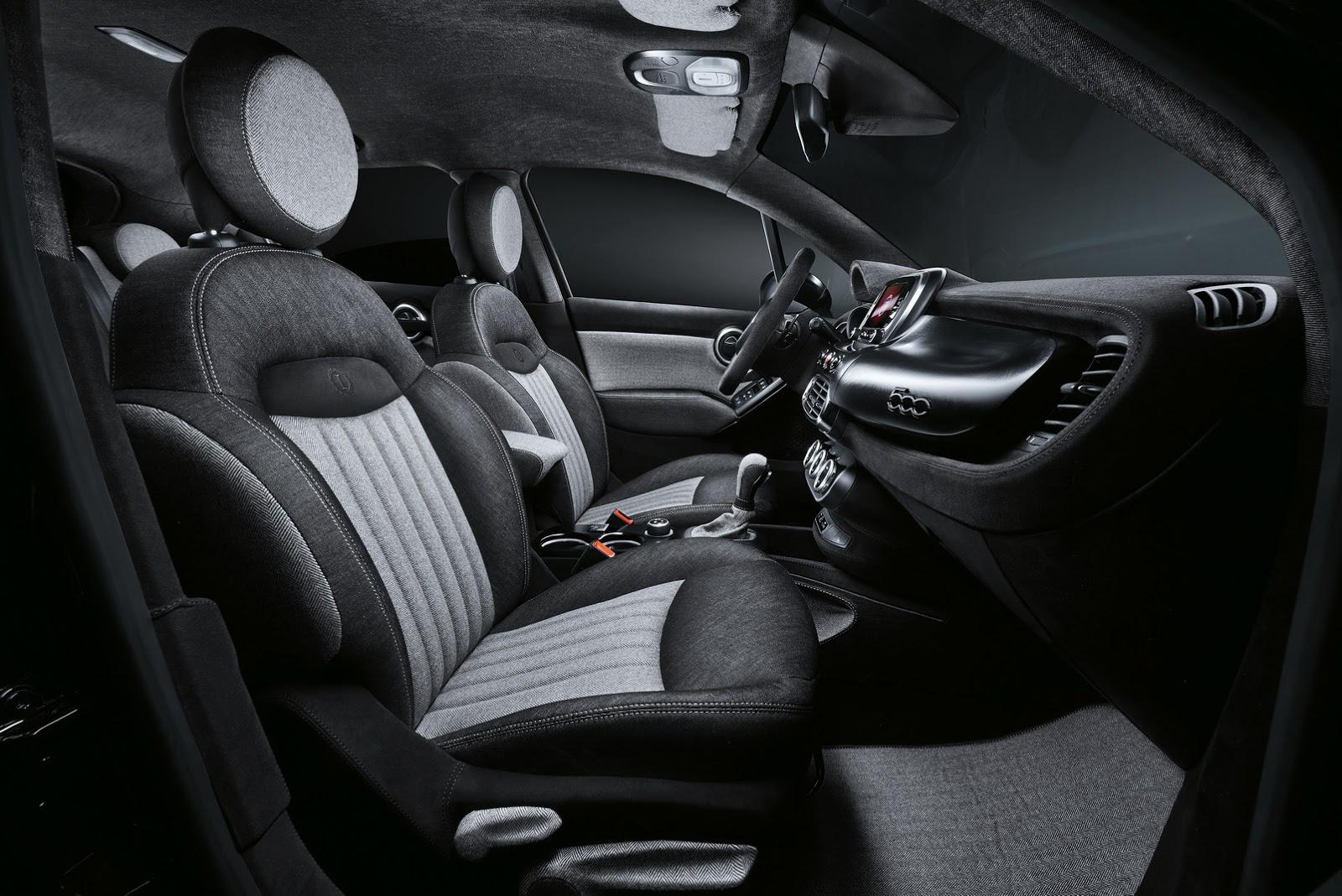 Fiat 500x Black Tie Study Made By Lapo Elkann S Garage