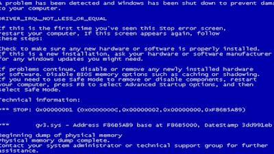 ايقاف اعادة تشغيل الحاسب السريعة عند ظهور الشاشة الزرقاء لنتمكن من معرفة الخطاء