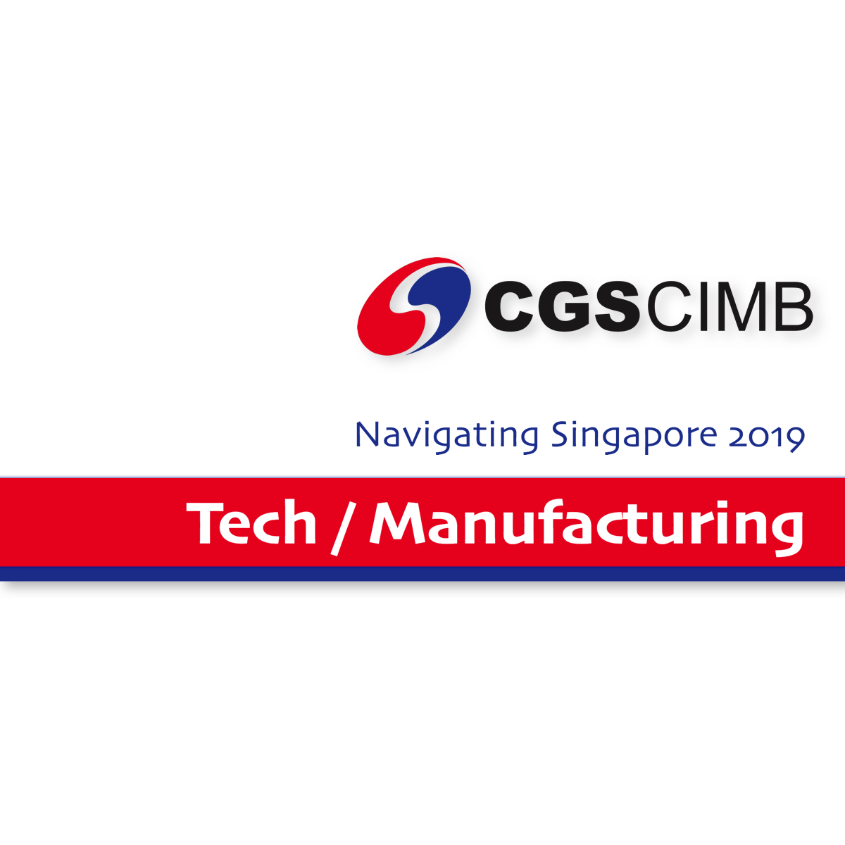 Navigating Singapore 2019 ~ Tech/Manufacturing Sector - CGS-CIMB Research | SGinvestors.io