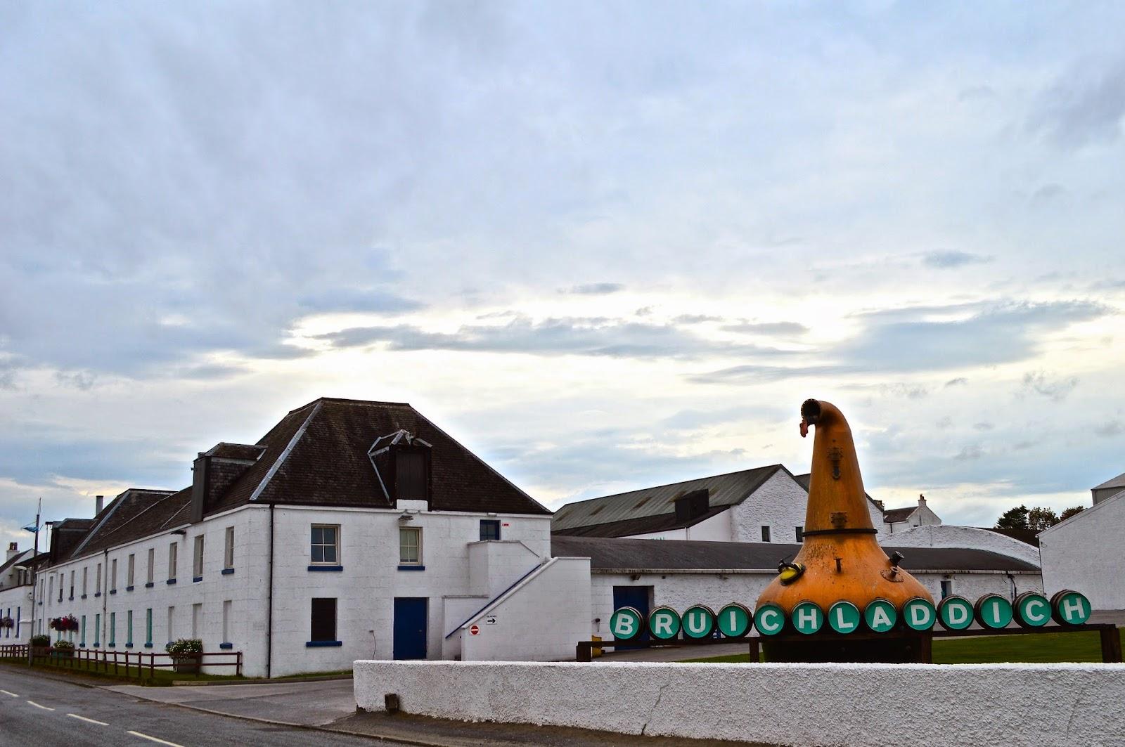 Bruichladdich Distillery, Islay, Scotland