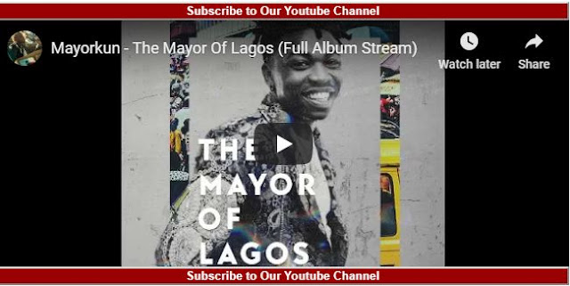 Mayorkun Mayor of Lagos