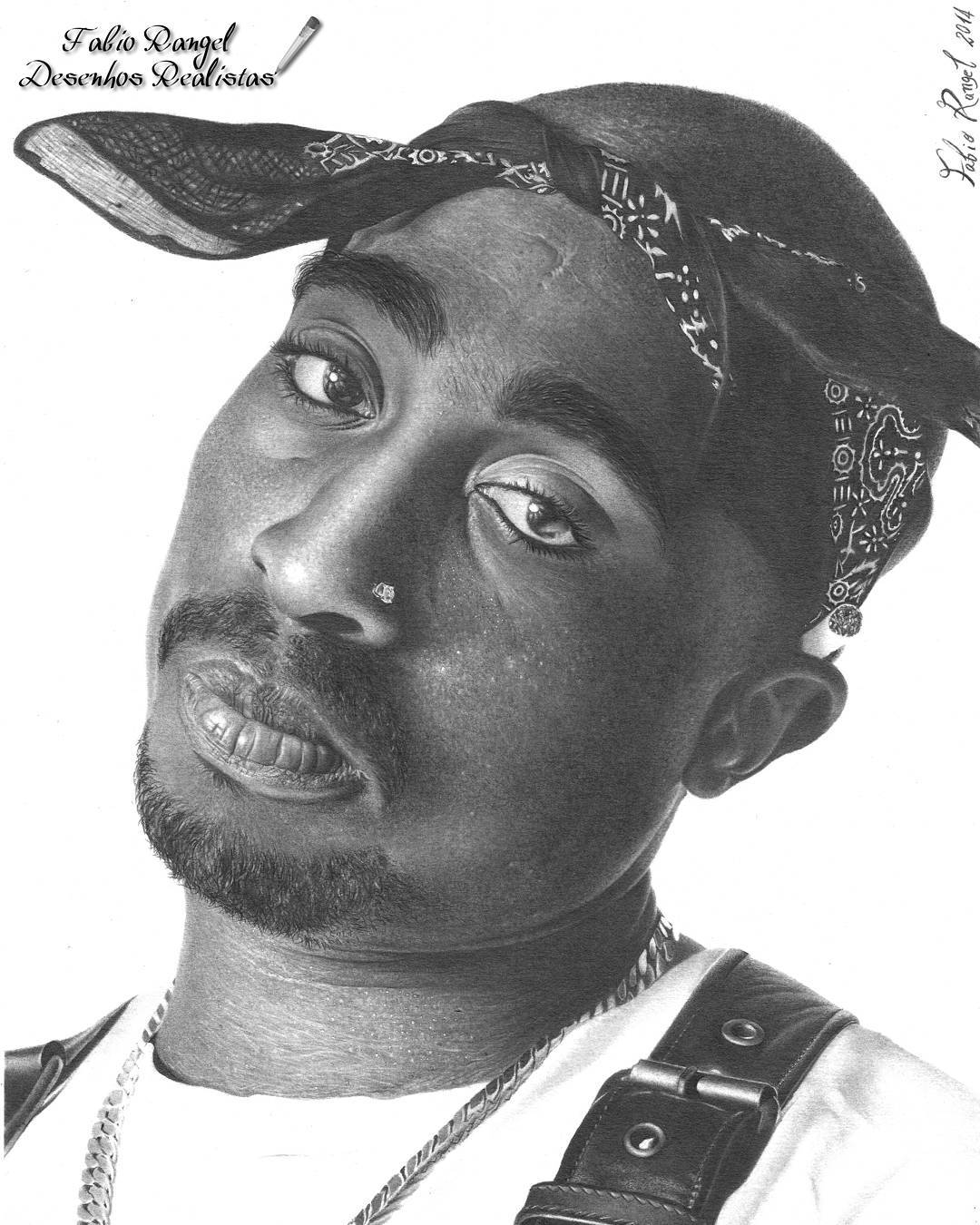 18-Tupac-Shakur-Fabio-Rangel-Drawings-of-Protagonists-from-TV-and-Movies-www-designstack-co