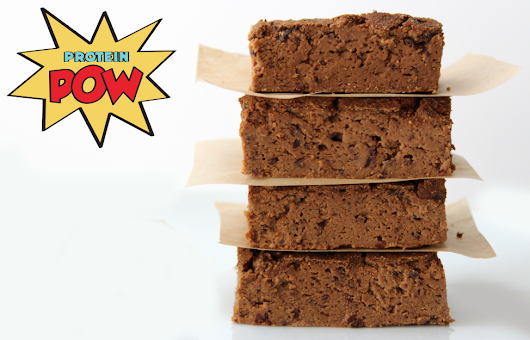 Protein Pow: Chocolate & Pumpkin Protein BROWNIES!