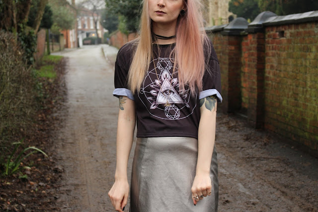 Spin Doctor Arcane Crop Top
