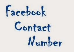 facebook contact number