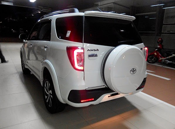 Perbedaan New Agya G Dan Trd All Innova Venturer Toyota Rush 2015 Tipe Spesifikasi Harga Dealer Resmi