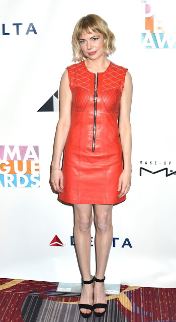 Actress, @ Michelle Williams - 82nd Annual Drama League Awards New York City