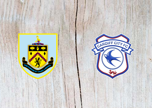 Burnley vs Cardiff - Highlights 13 April 2019