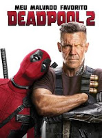 cartaz de deadpool 2 com deadpool e cable
