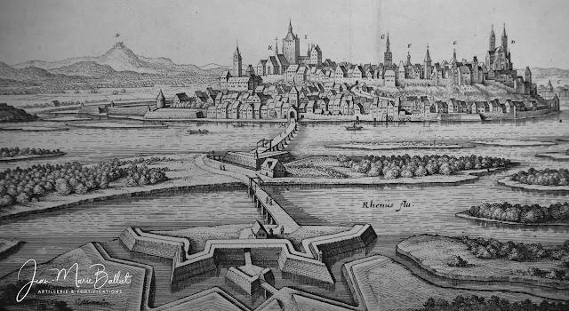 Merian - Topographia Alsatiæ (1644) — Breisach am Rhein