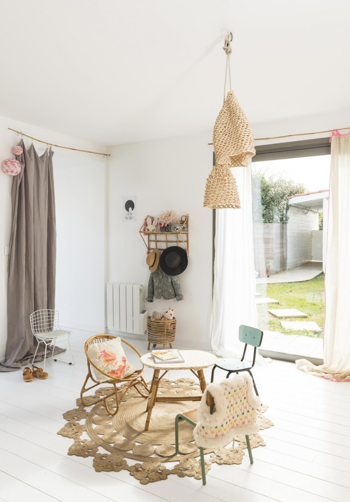 A fun kid's space with lots of natural light- design addict mom