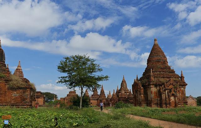 Templos en Bagan - Myanmar