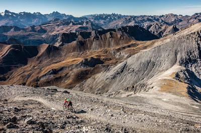 Bikebergsteigen Westalpen - Mont Chaberton 3136 m