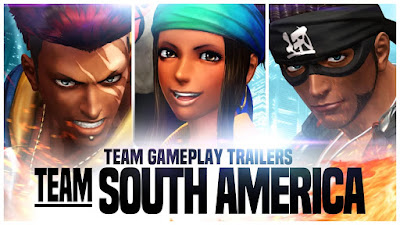 The King of Fighters XIV - South American Team Trailer - We Know Gamers