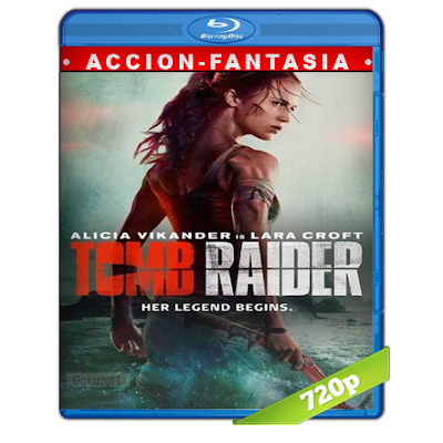 Tom Raider Las Aventuras De Lara Croft (2018) BRRip 720p Audio Trial Latino-Castellano-Ingles 5.1