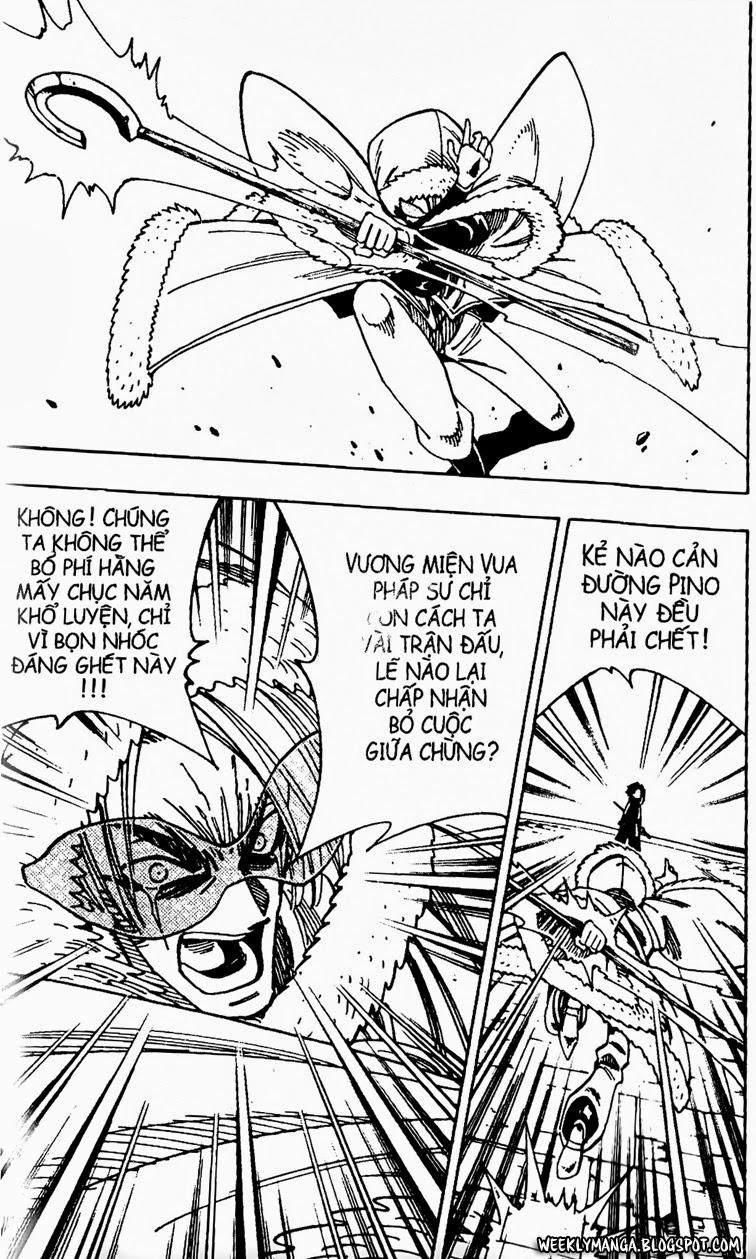 Shaman King [Vua pháp thuật] chap 133 trang 9
