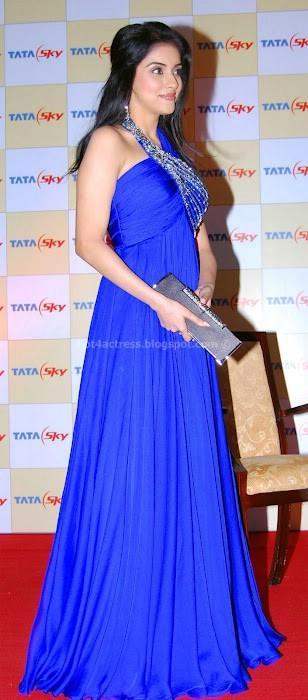 Asin hot pics in blue dress