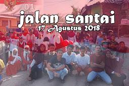 Semarak Kemeriahan Acara Jalan Santai 17 Agustus 2018 Di Cibetik