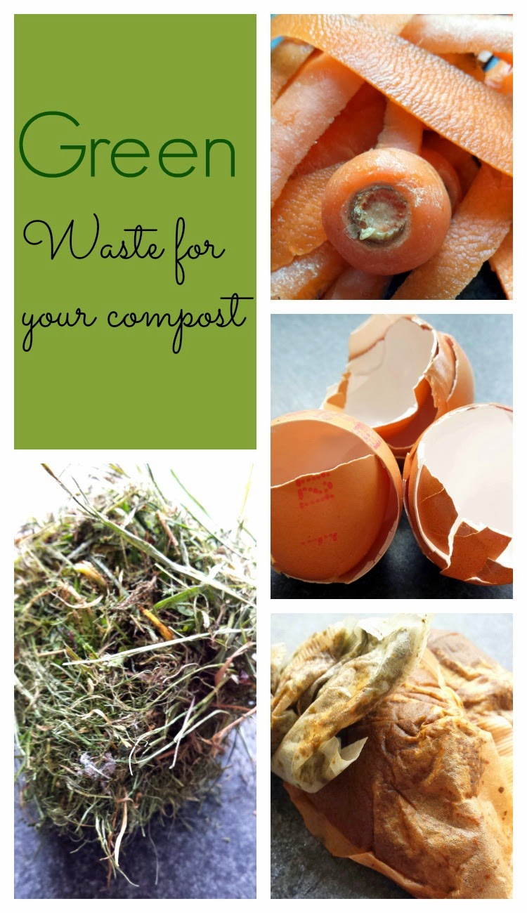 Green waste for compost