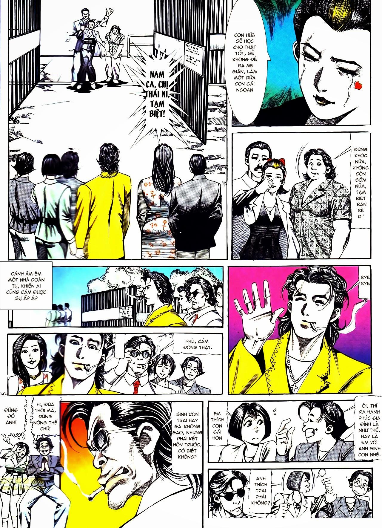 Người Trong Giang Hồ chapter 120: sắc ma đồn môn trang 7