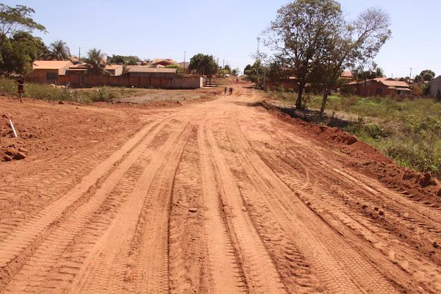 Moradores de vários bairros são beneficiados com a abertura de trecho da Avenida das Mangueiras