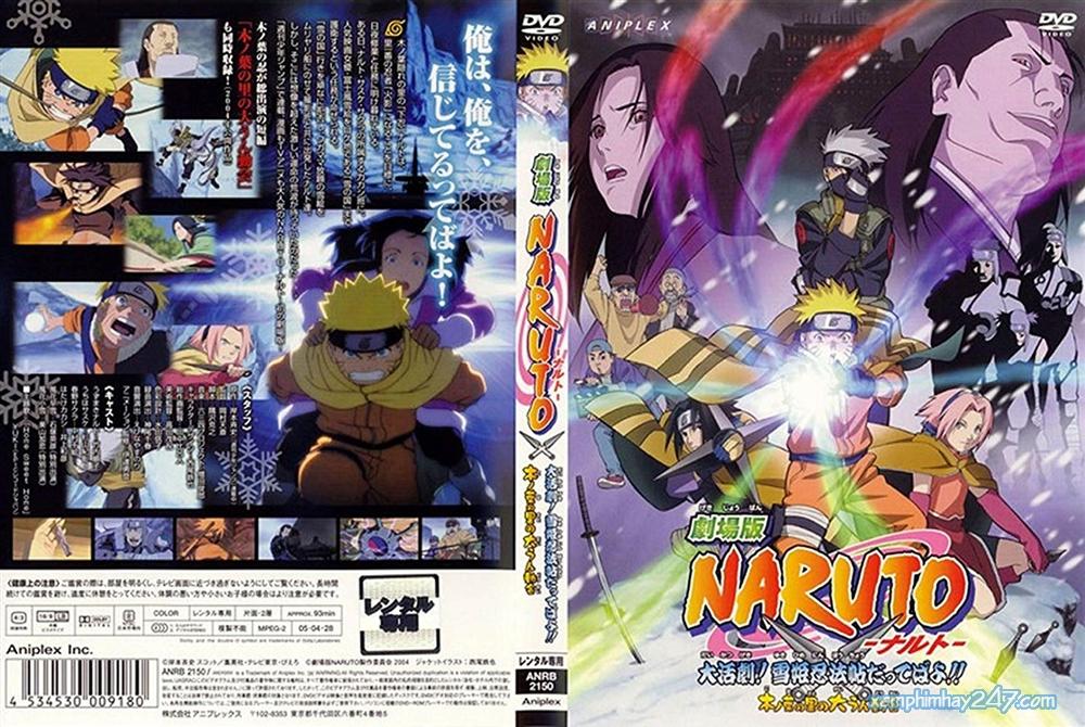 http://xemphimhay247.com - Xem phim hay 247 - Cuộc Chiến Ở Tuyết Quốc (2004) - Naruto The Movie 1: Ninja Clash In The Land Of Snow (2004)