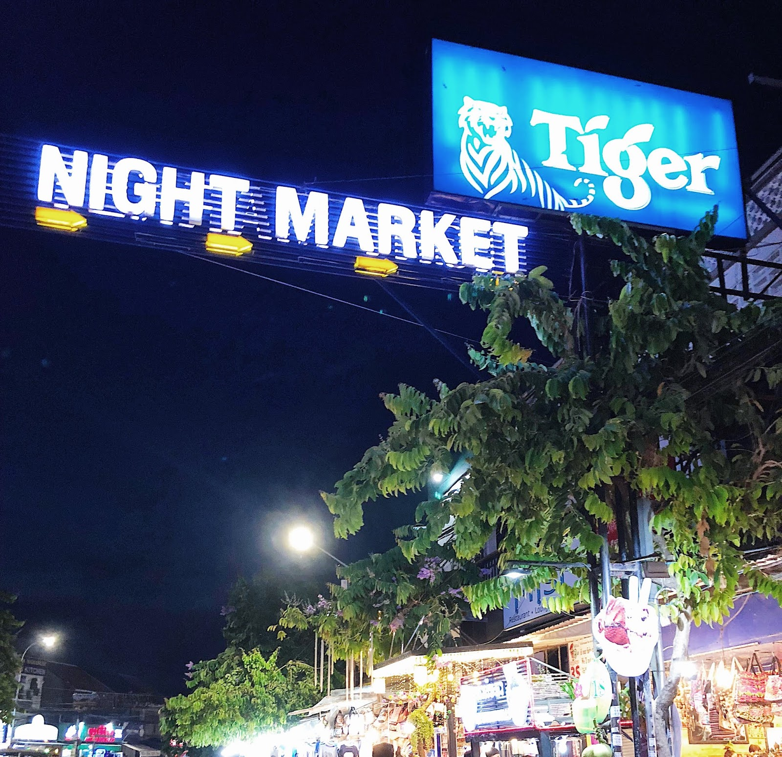 Night market/pub street
