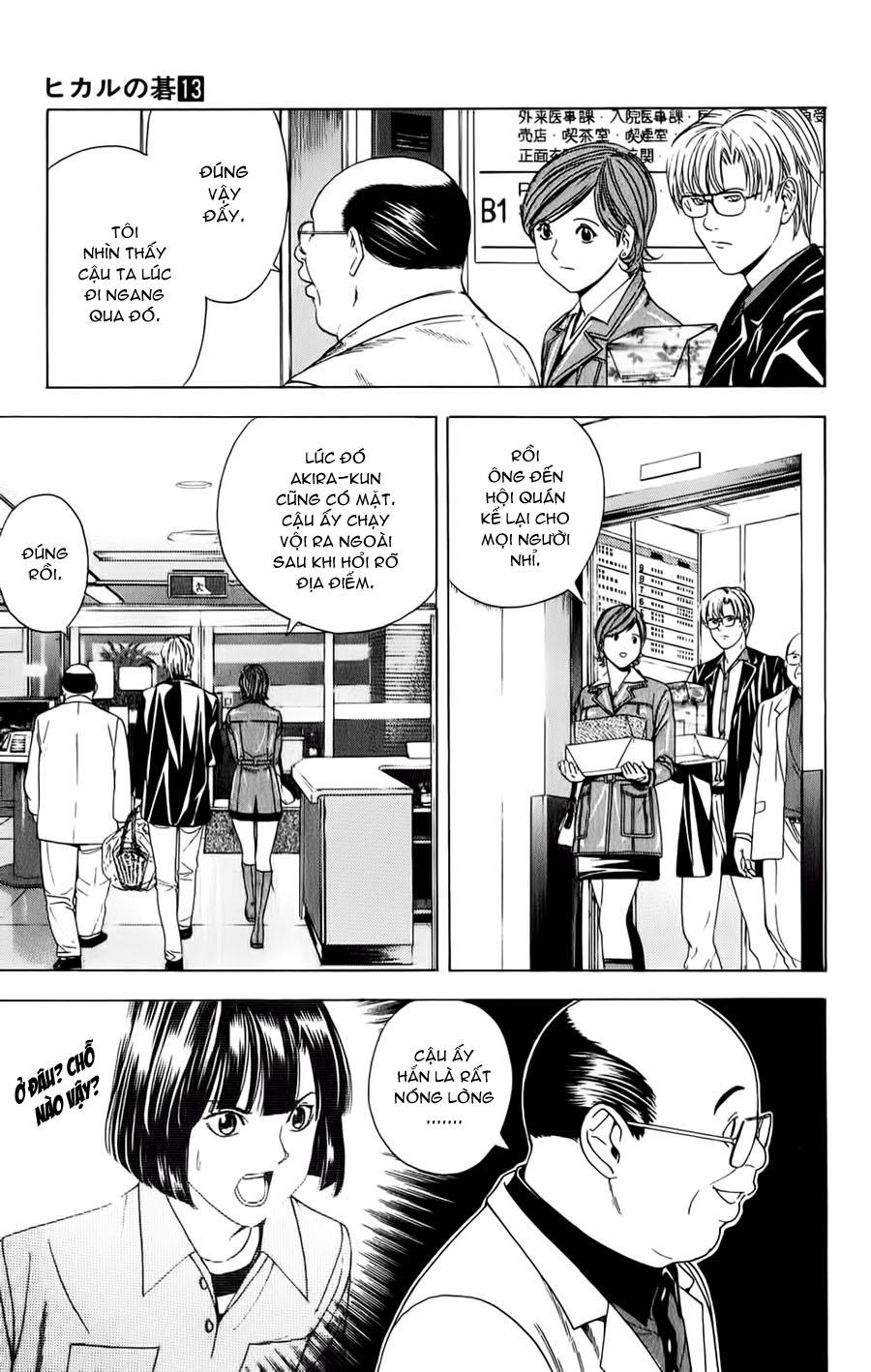 Hikaru No Go hikaru no go chap 107 trang 15