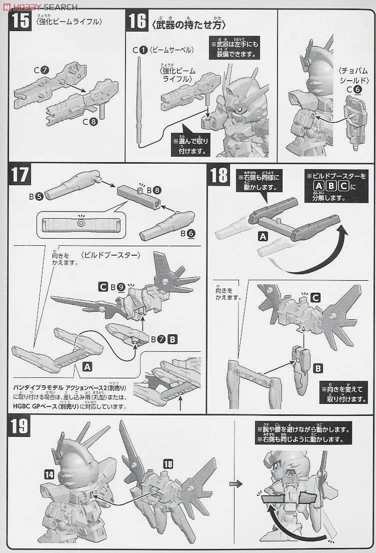 GUNDAM GUY: SD BB Senshi Build Strike Gundam Full Package