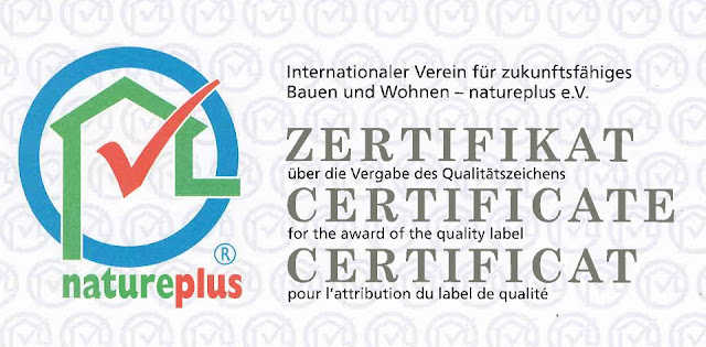 Nature Plus Certificate