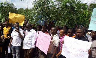 Aisha Jumwa custody protest.