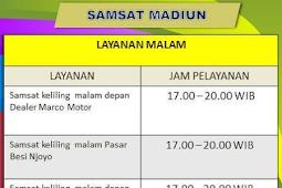 Jadwal Samsat Keliling Madiun April 2019