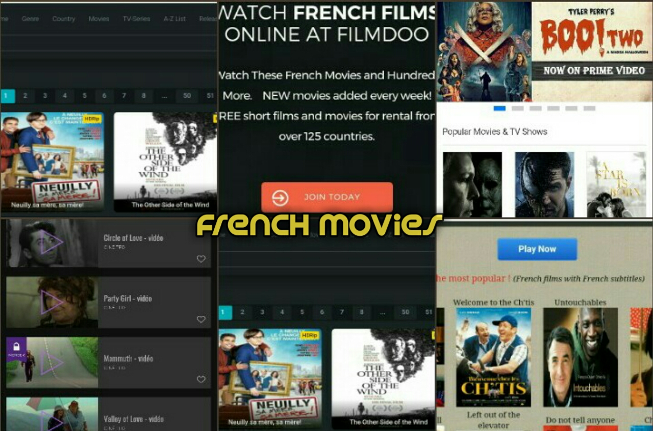 Best websites to download French movies for free