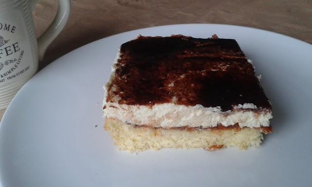 ciasto z kremem z kaszy manny