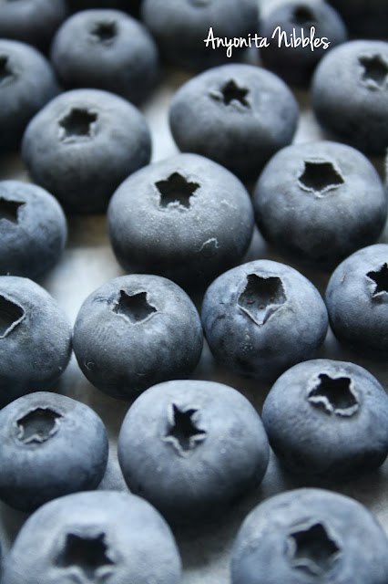 Beautiful frozen blueberries from www.anyonita-nibbles.com