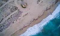 Γύρα, η όμορφη παραλία στη λιμνοθάλασσα της Λευκάδας
