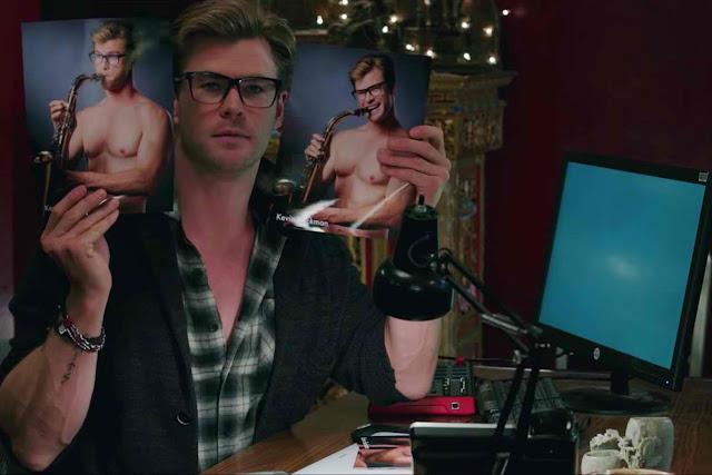 Ghostbusters Chris Hemsworth sidekick