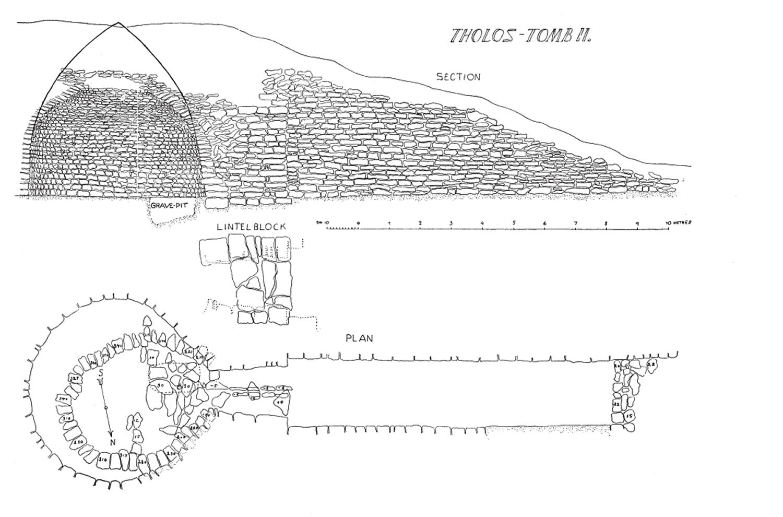 Mycenaean Atlas Project  Tholos Ii At Malthi  C307