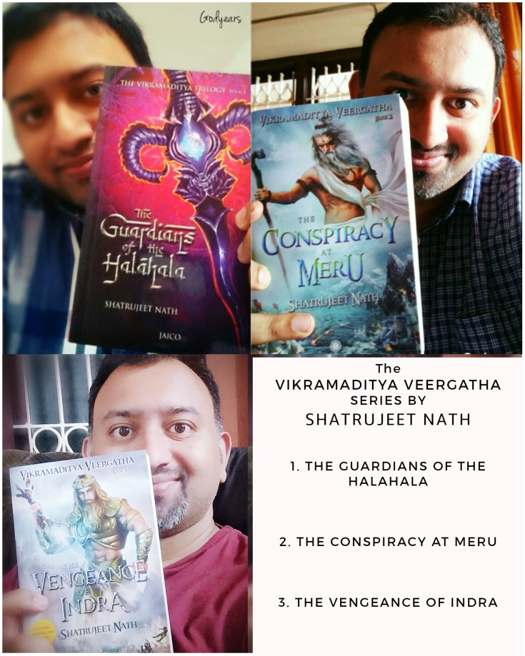 As it was with the two books of this series earlier, I have no hesitation in giving The Vengeance of Indra by Shatrujeet Nath 5 out of 5 stars.
